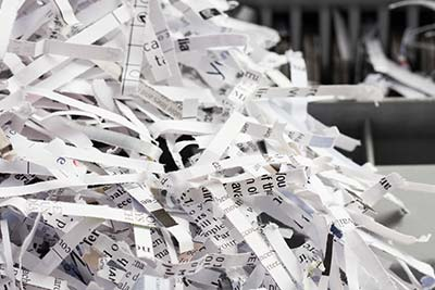 Shredding Services | Planet Waste Services